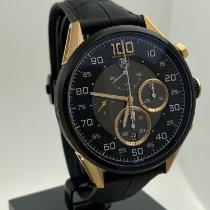 TAG Heuer Carrera Mikrograph Gold/Steel 43mm Black Arabic numerals