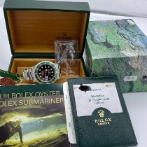Rolex Submariner Date новые 2004 Автоподзавод Часы с оригинальными документами и коробкой 16610LV Fat Four