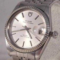 Tudor Prince Oysterdate Steel 34mm Silver United States of America, Michigan, Warren