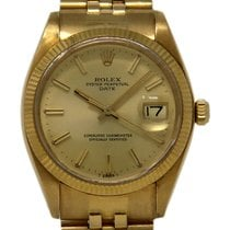 Rolex Oyster Perpetual Date Yellow gold 34mm Champagne United States of America, Florida, 33132