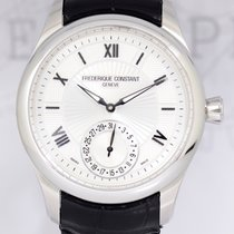 Frederique Constant 42mm Automatic 2013 pre-owned Manufacture (Submodel) Silver