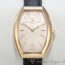 Vacheron Constantin Egerie Gelbgold 750 Lederband Lady 25040