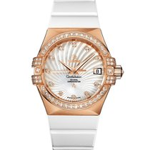 Omega Constellation Co-Axial Automatic Ladies Watch with...