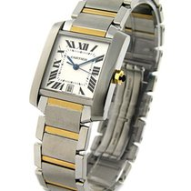 Cartier W51005Q4 Tank Francaise in Two Tone - on Steel and...