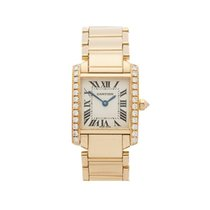 Cartier Tank Francaise 18k Yellow Gold Ladies 2385 or WE1001R8...