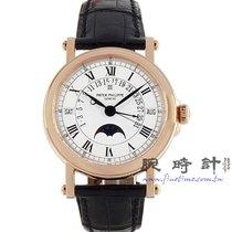 百達翡麗 Perpetual Calendar 玫瑰金 36mm 白色 羅馬數字
