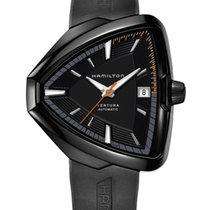 Hamilton Ventura Steel Black