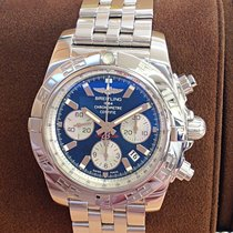 Breitling Chronomat 44 Steel 44mm Blue No numerals United Kingdom, Wilmslow