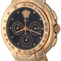 Versace Yellow gold 43mm Automatic 8 137 922 pre-owned