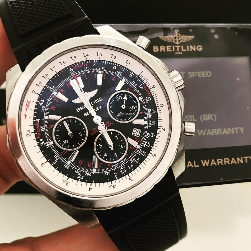 d937d3a8ef9 Relógios Breitling for Bentley usados