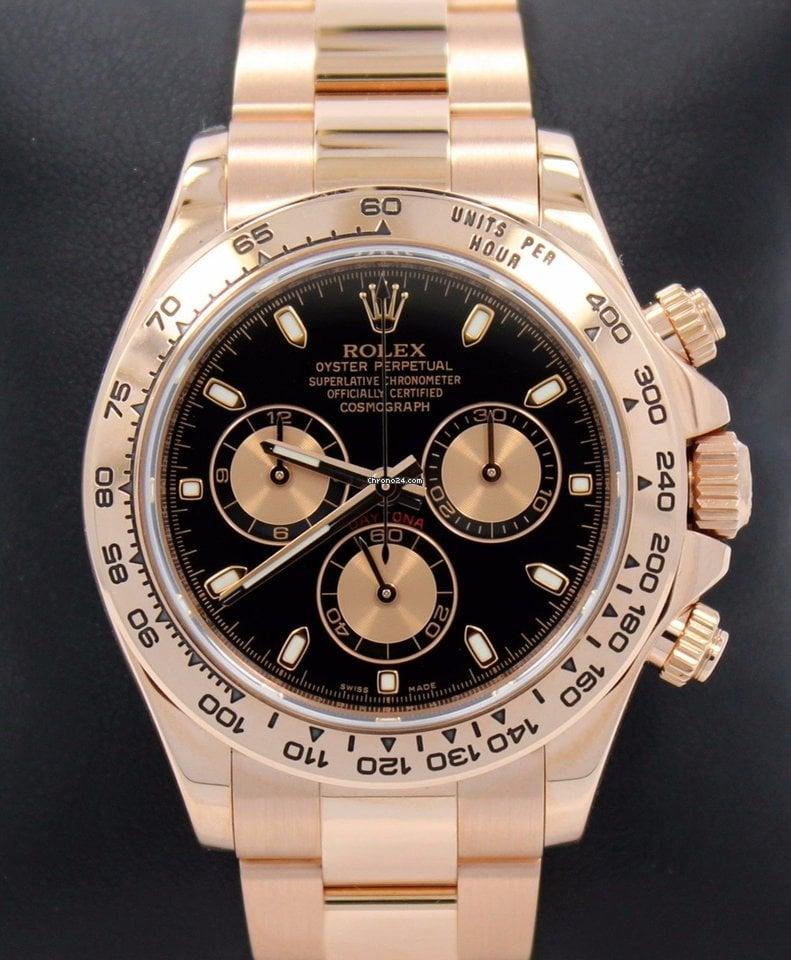 Rolex Daytona 116505 pre-owned