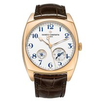 Vacheron Constantin Harmony Rose gold 49.3mm Silver United States of America, Connecticut, Greenwich