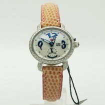 Michele 30mm Quartz pre-owned CSX Mother of pearl