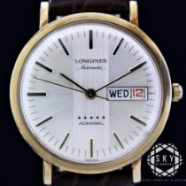 Longines Admiral Gold/Steel 35mm Silver United States of America, New York, NEW YORK