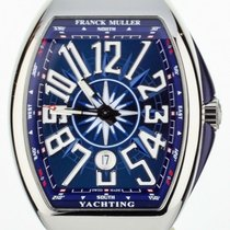 Franck Muller Vanguard Steel 45mm Blue United States of America, Illinois, BUFFALO GROVE