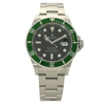 Rolex 16610LV Steel 2009 Submariner Date 40mm pre-owned United Kingdom, Liverpool