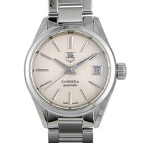 TAG Heuer Carrera Lady Steel 28mm White