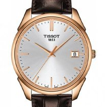 Tissot Rose gold Quartz Silver 40mm new