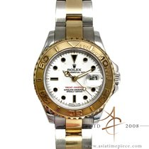 Rolex Yacht-Master Gold/Steel 29mm White No numerals Singapore, Singapore