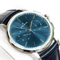 Zenith Elite Chronograph Classic Steel 42mm Blue No numerals