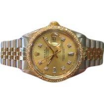 Rolex Χρυσός / Ατσάλι 36mm Αυτόματη 1601 μεταχειρισμένο