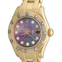 Rolex 80318 Yellow gold Lady-Datejust Pearlmaster 28mm pre-owned United States of America, Texas, Dallas