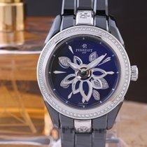 Perrelet Diamond Flower Ceramic 40mm Black No numerals
