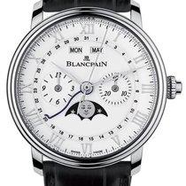 Blancpain Сталь Автоподзавод Белый 40.3mm новые Villeret Complete Calendar