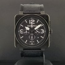 Bell & Ross BR 01-94 Chronographe Acero 46mm Negro