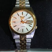 Seiko 5 new 2014 Automatic Watch with original box and original papers SNXJ90K1