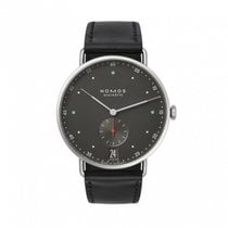 NOMOS Metro 38 Datum Steel 38.5mm Black No numerals
