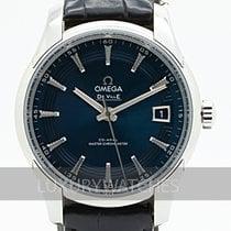 Omega De Ville Hour Vision Acero 41mm Azul