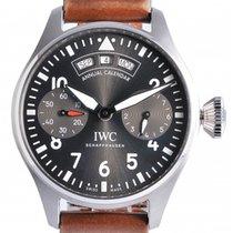 IWC Big Pilot Steel 46.2mm Grey Arabic numerals UAE, Dubai