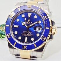 Rolex Submariner Date Золото/Cталь 40mm Синий