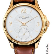 Rolf Lang Rose gold 41/42mm Manual winding C.RG.SE-silber new