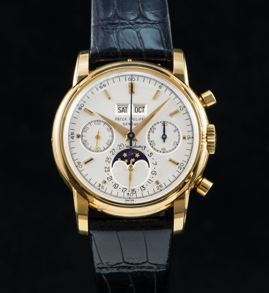 Patek Philippe 2499 third series perpetual calendar chronograph sold on  Chrono24