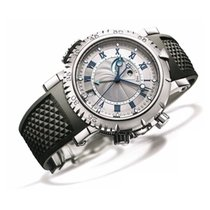 Breguet 5847BB7/12/5ZV White gold 2020 Marine 45mm new
