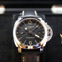 沛納海 Luminor 1950 3 Days GMT Automatic 鋼 44mm 黑色 阿拉伯數字 香港, Kowloon