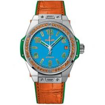 Hublot Big Bang Pop Art Stahl 39mm Blau