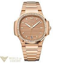 Patek Philippe Nautilus 18K Rose Gold Ladies Automatic Watch