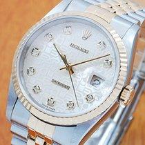 Rolex 18K Gold & S/S Diamond Automatic Men's Watch
