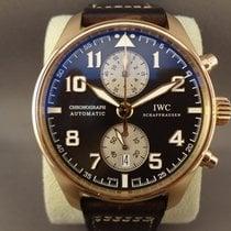 IWC Pilot Chronograph usados Cuero