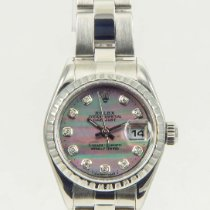 Rolex Datejust Tahitian MOP Diamond Dial Ladies Watch 26mm