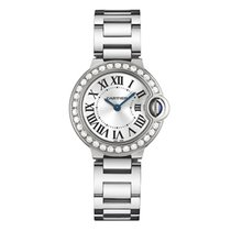 Cartier Ballon Bleu 28mm White Gold & Diamond (WE9003Z3)