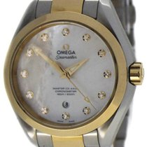 Omega Seamaster Aqua Terra Gold/Steel 34mm Mother of pearl Australia, Melbourne