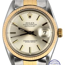 Rolex DateJust 36mm 1603 14K Two-Tone Gold Stainless Silver...