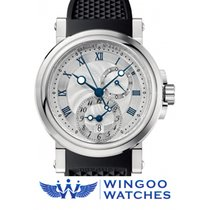 Breguet 42mm Automatic 2019 new Marine Silver