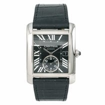 Cartier Tank MC Steel 34mm Black Roman numerals United States of America, New York, New York