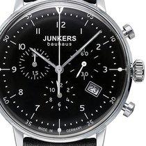 Junkers Chronograph 40mm Quartz new Bauhaus Black
