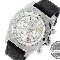 Breitling Chronomat 44 GMT Steel 44mm Silver Arabic numerals United States of America, Pennsylvania, Willow Grove
